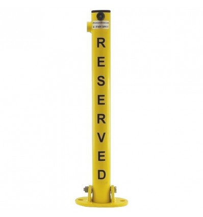 610Y 'Reserved' Fold Down Post