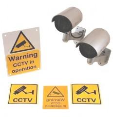 DC2 Dummy CCTV Camera Special Offer Pack