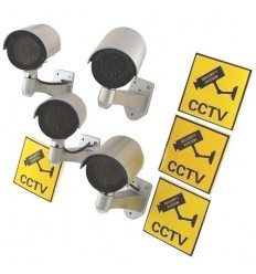 DC2 Dummy CCTV Camera Special Offer Pack 2
