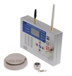Heavy Duty Wireless GSM Smoke Alarm System