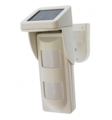 Solar Powered Wireless Outdoor Pet Tolerant Wireless PIR
