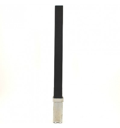 H/D Black 100P Removable Parking & Security Post