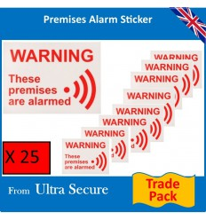 Alarm Warning Window Sticker