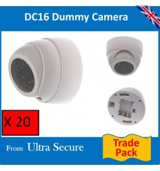 White Decoy Dome CCTV Camera (DC16)