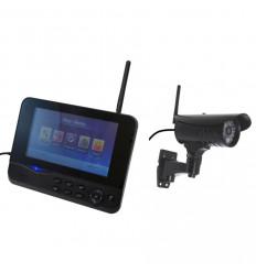 Wireless CCTV with 1 x 20 metre Night Vision Camera